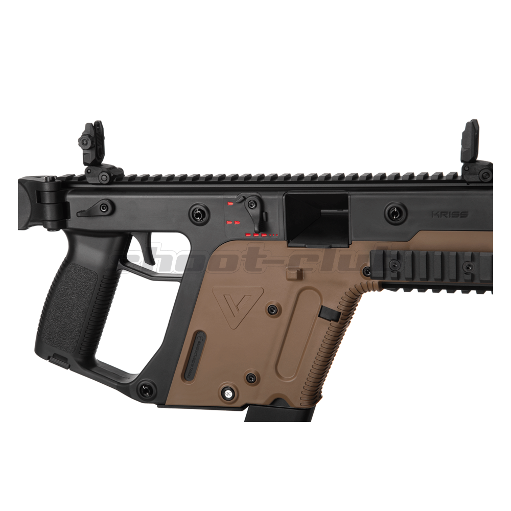 Krytac Kriss Vector SMG AEG 0,5J  6mm  ab14 - Dual Color Bild 3