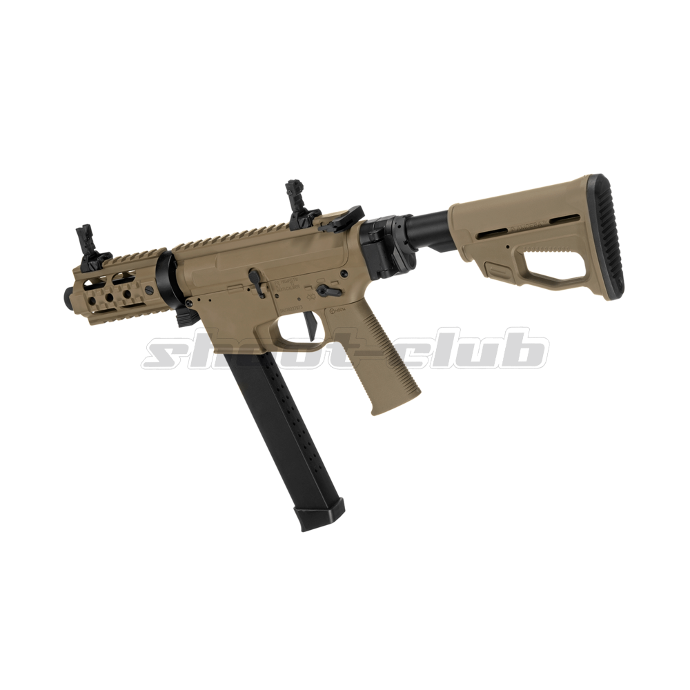 Ares M4 45 Pistol - X-Class  Airsoft SMG S-AEG ab18 - TAN Bild 2