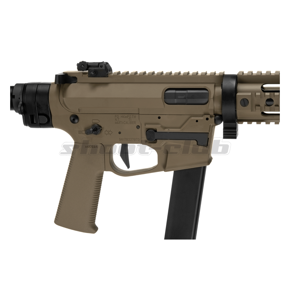 Ares M4 45 Pistol - X-Class  Airsoft SMG S-AEG ab18 - TAN Bild 3