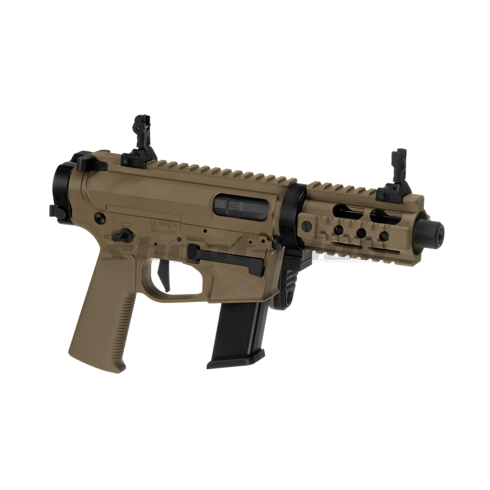 Ares M4 45 Pistol - X-Class  Airsoft SMG S-AEG ab18 - TAN Bild 4