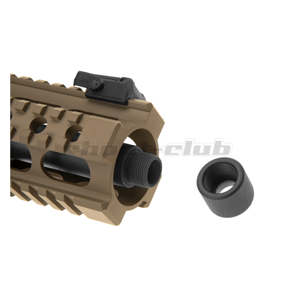 Ares M4 45 Pistol - X-Class  Airsoft SMG S-AEG ab18 - TAN Bild 5