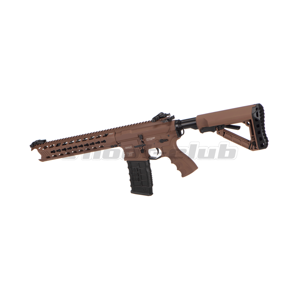G&G GC16 Predator S-AEG 6mm Airsoft Desert Metall Version - max. 1,6J ab18 Bild 2