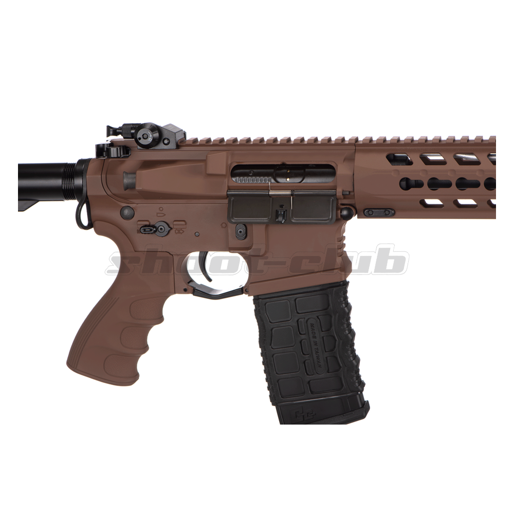 G&G GC16 Predator S-AEG 6mm Airsoft Desert Metall Version - max. 1,6J ab18 Bild 3