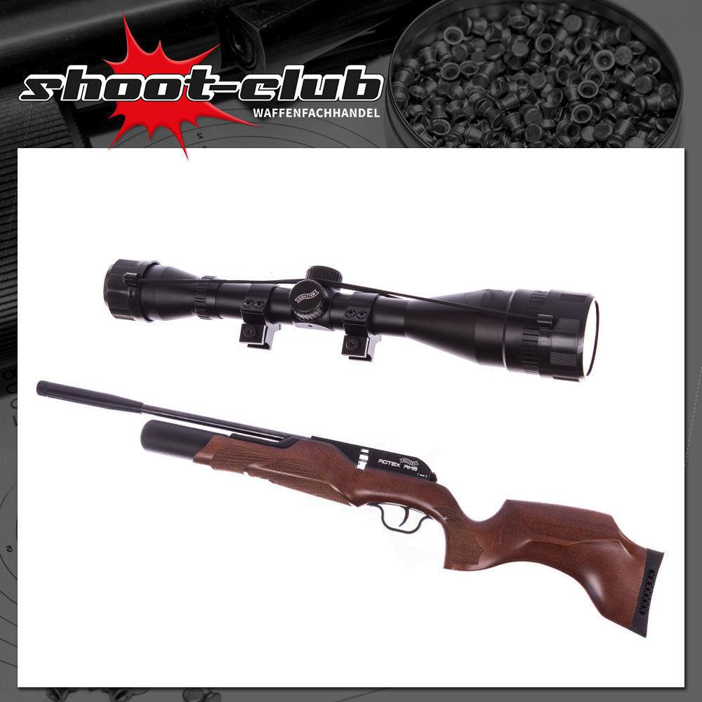 Walther Rotex RM8 - Press-Luftgewehr 4,5mm inkl. 6x42 Zielfernrohr