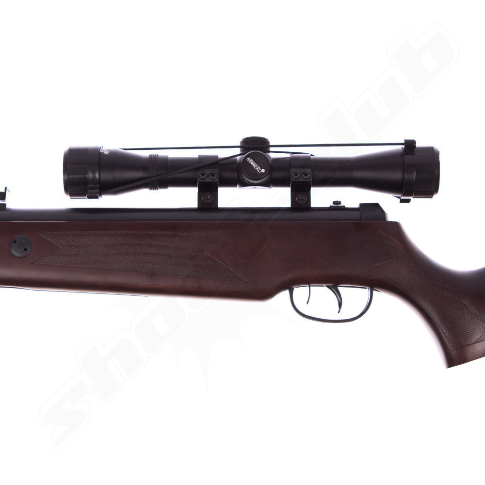 Hämmerli Hunter Force 750 Luftgewehr 4,5mm Diabolos im Super-Target Set Bild 2