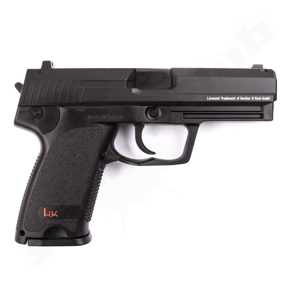 H&K USP P8 CO2 Softair Pistole 6mm Fixed Slide 2 Joule Bild 2