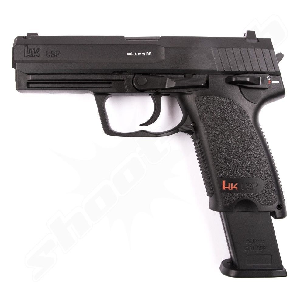 H&K USP P8 CO2 Softair Pistole 6mm Fixed Slide 2 Joule Bild 3