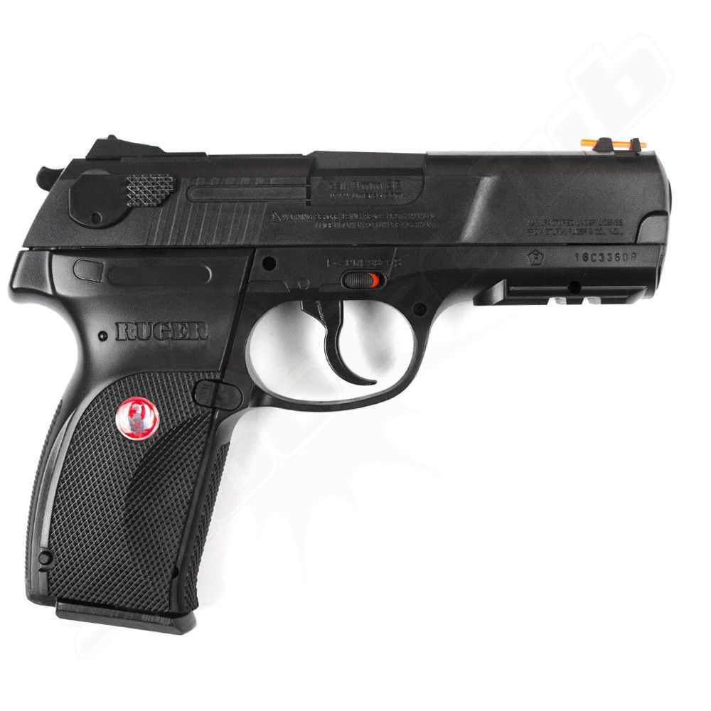 Ruger P345 Softair Pistole Co2 Fixed Slide NBB 6 mm 2 Joule schwarz Bild 2