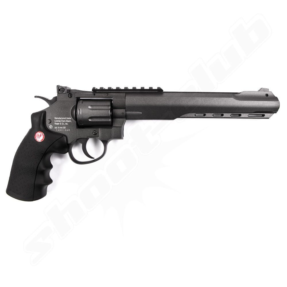 Ruger Super Hawk 8 CO2 Softair Revolver - 6mm Bild 2