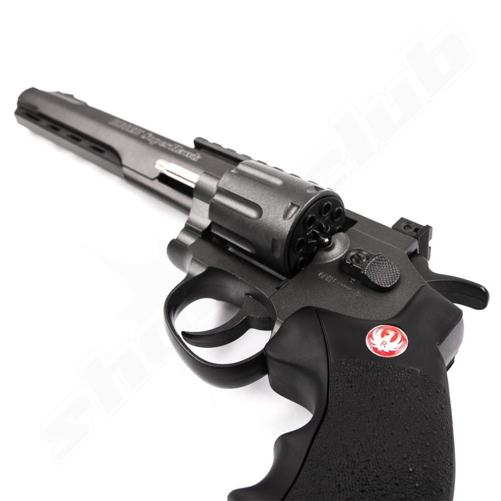 Ruger Super Hawk 8 CO2 Softair Revolver - 6mm Bild 3