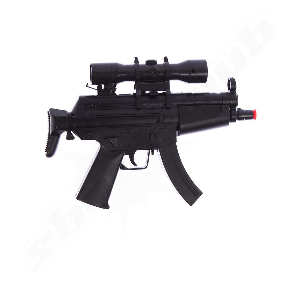 H&K MP5 Kidz DP Softair-Gewehr - Dual Power, Kal. 6mm Bild 2