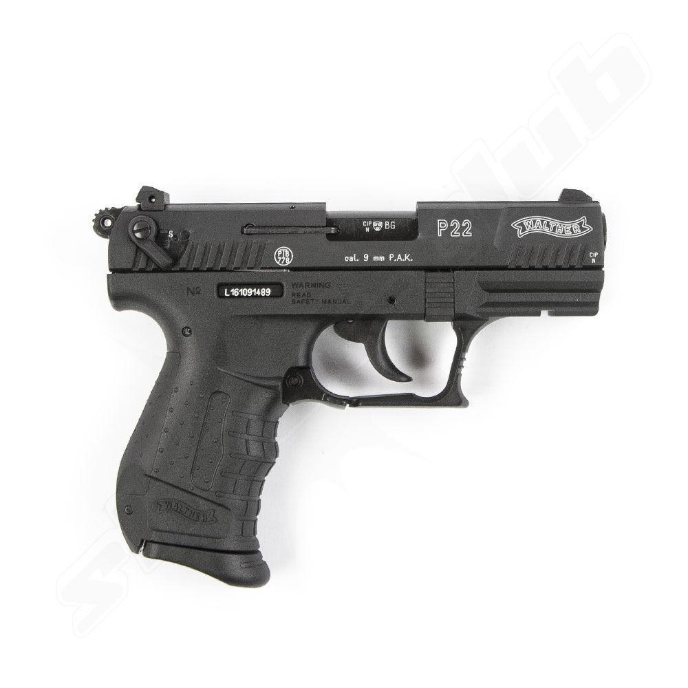 walther p22 schreckschusspistole 9mm platzpatronen. Black Bedroom Furniture Sets. Home Design Ideas