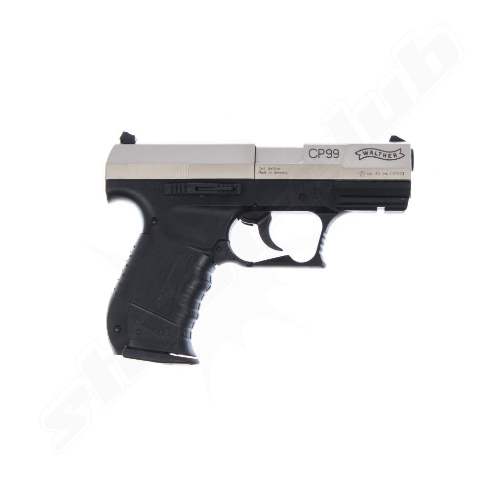 Walther CP99 bicolor CO2 Pistole - 4,5 mm Diabolos Bild 2