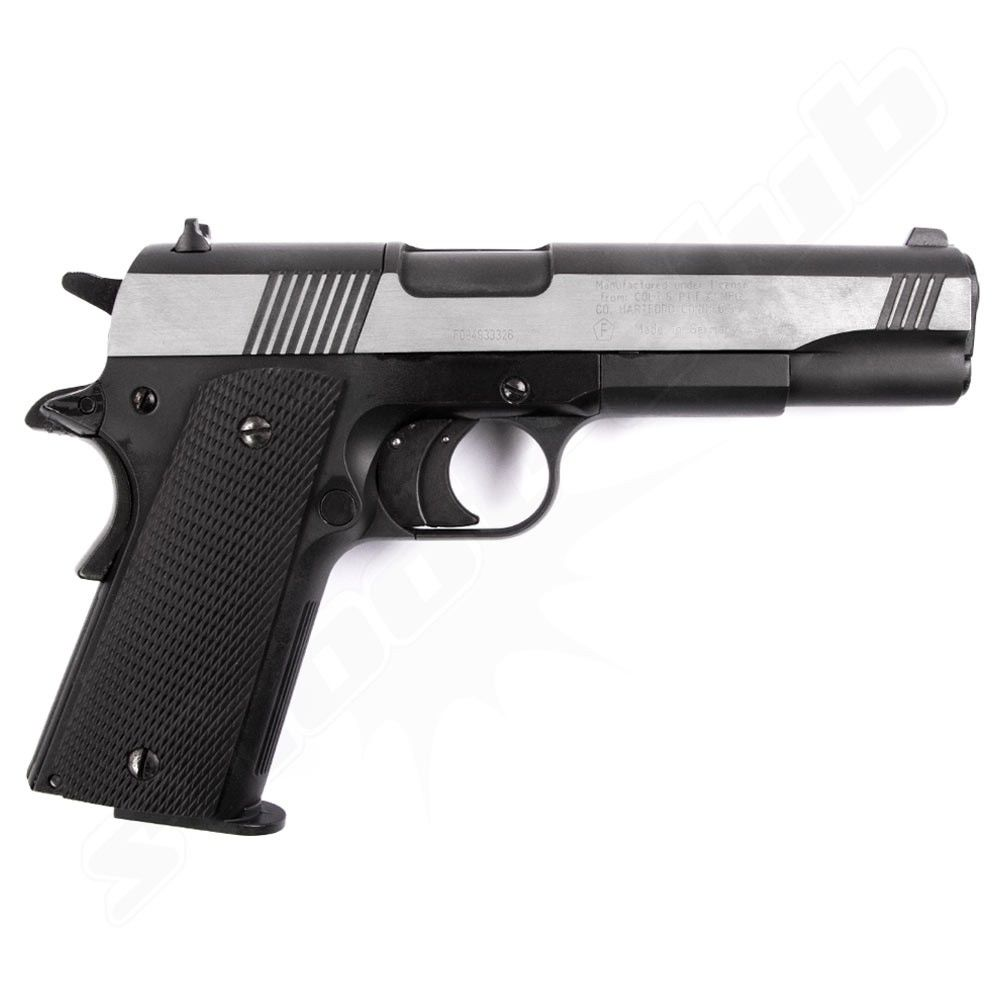 Colt Government 1911 A1 Dark OPS CO2 Pistole - 4,5mm Bild 2
