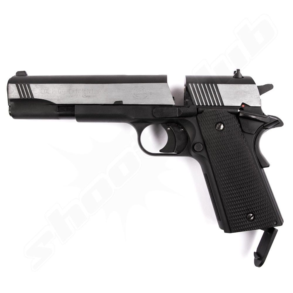 Colt Government 1911 A1 Dark OPS CO2 Pistole - 4,5mm Bild 3
