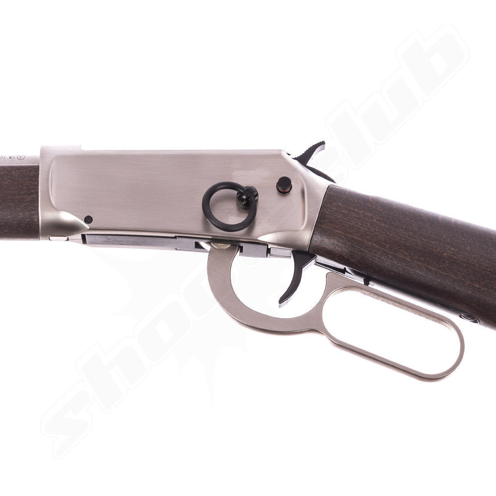 Walther Lever Action CO2 Gewehr 4,5 Diabolos - Steel Finish Bild 3