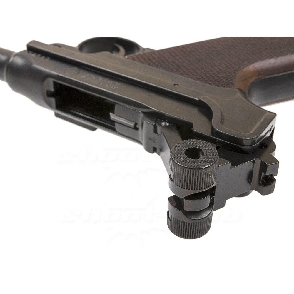 luger me p08 schreckschusspistole 9mm platzpatronen. Black Bedroom Furniture Sets. Home Design Ideas