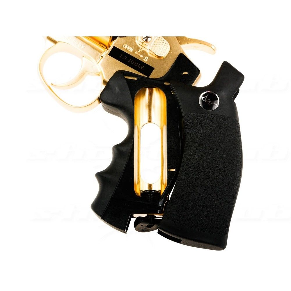 Dan Wesson 2,5 Revolver - Gold Edition - Kal. 4,5mm - max. 1,7 Joule Bild 4