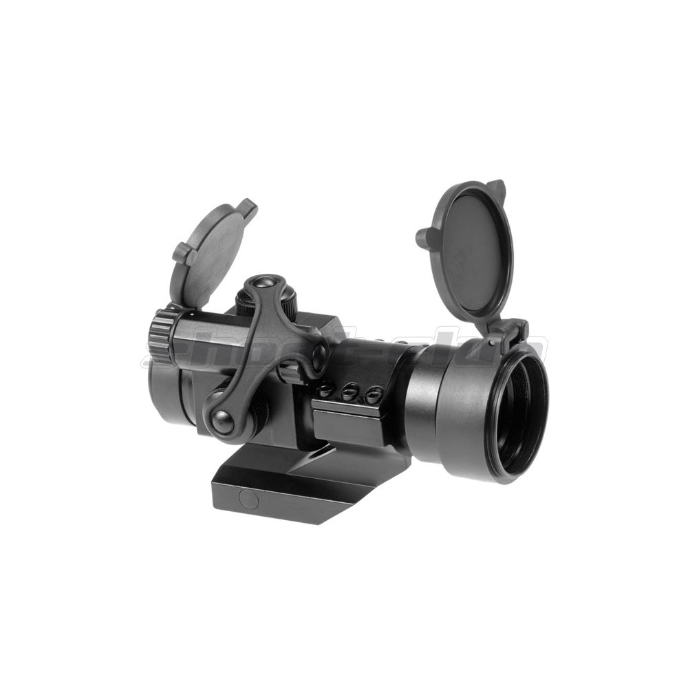 AIM-O M2 Airsoft Red Dot Sight inkl. Cantilever Mount - Black