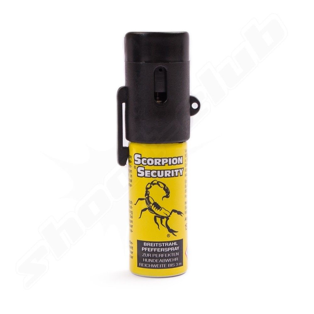 Abwehrspray Scorpion Security Breitstrahl 15ml 10% OC