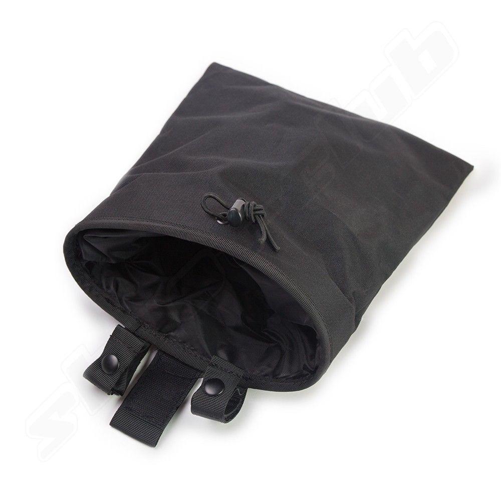 Abwurfsack Dump Pouch aus stabilem Nylon - schwarz BK