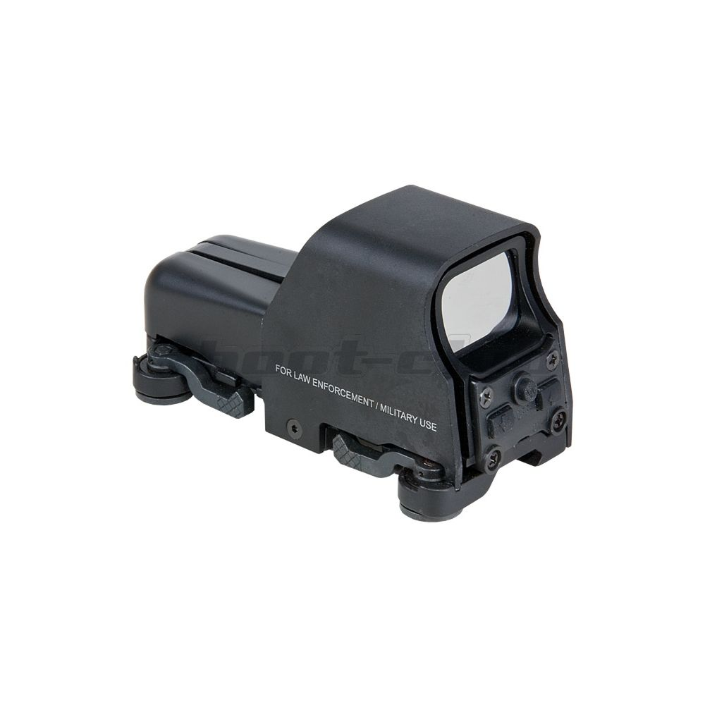 Aim-O Airsoft Red Dot Sight Holo553 Style QD-Mount - Black