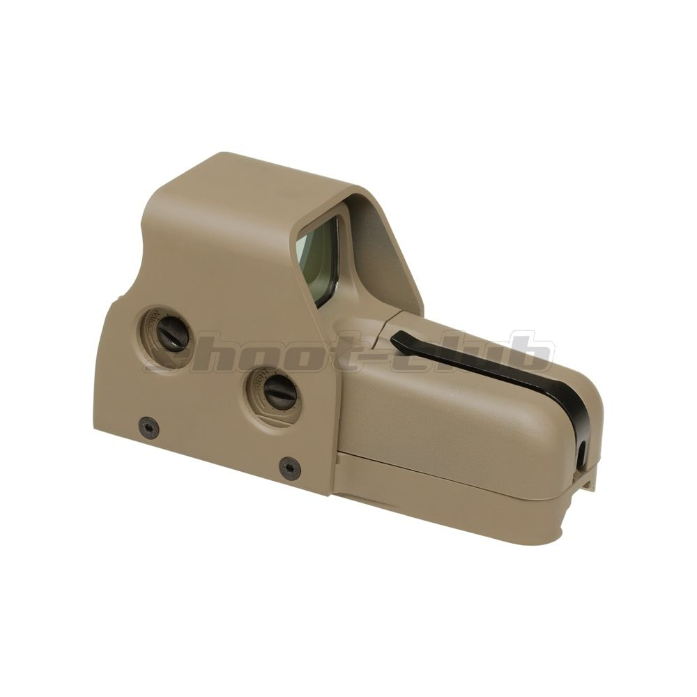 Aim-O Airsoft Red Dot Sight Holo553 Style QD-Mount - TAN