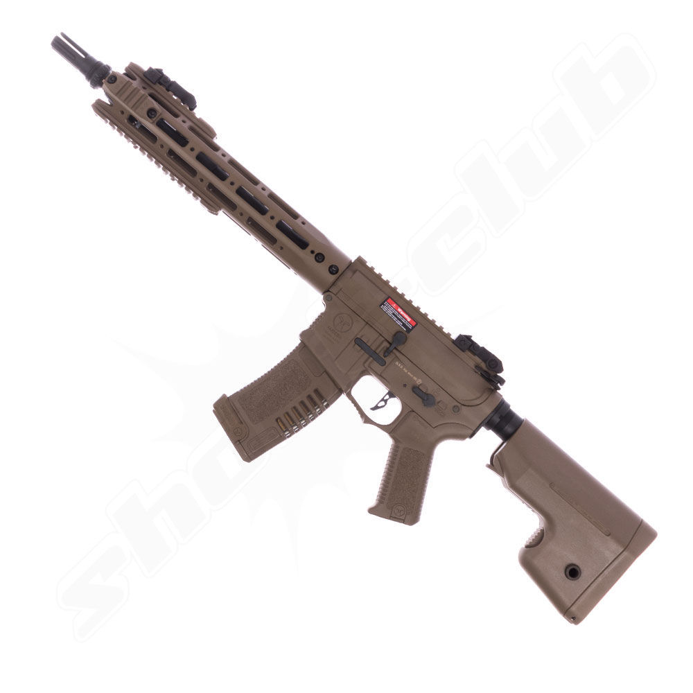 Amoeba M4 AM009 DE S-AEG Softair Gewehr 6mm Dark Earth