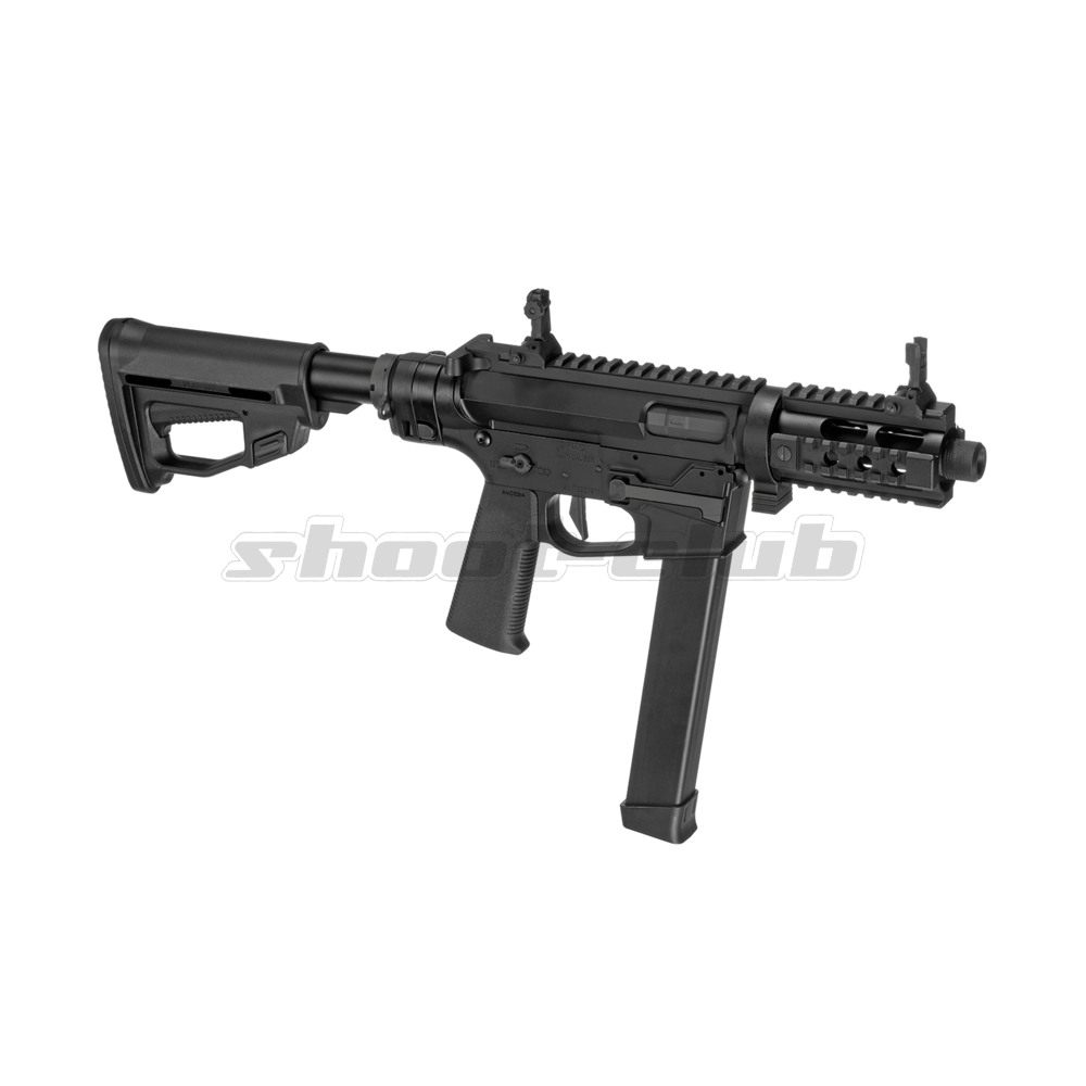 Ares M4 45 Pistol - X-Class  Airsoft SMG S-AEG ab18 - Black