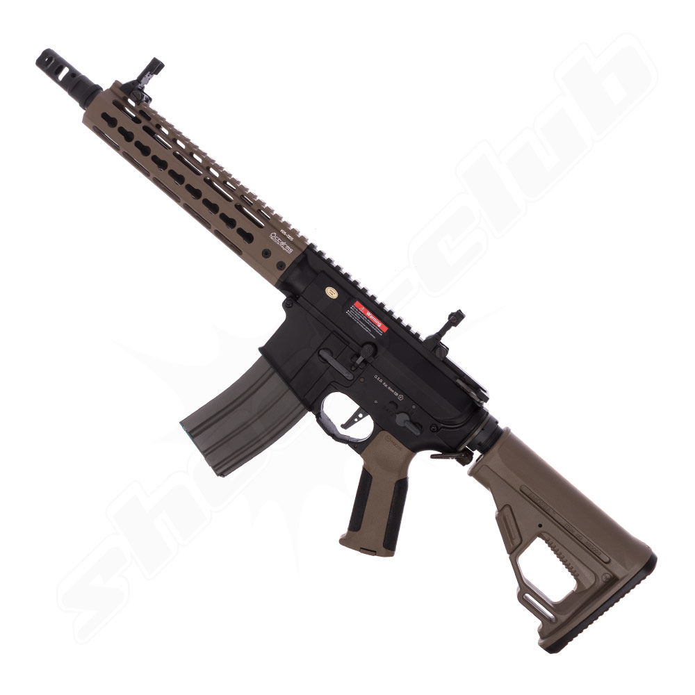 Ares Octa²rms (Octaarms) X Amoeba Pro KM09 S-AEG Airsoft Gewehr mit EFCS ab18 - Flat Dark Earth
