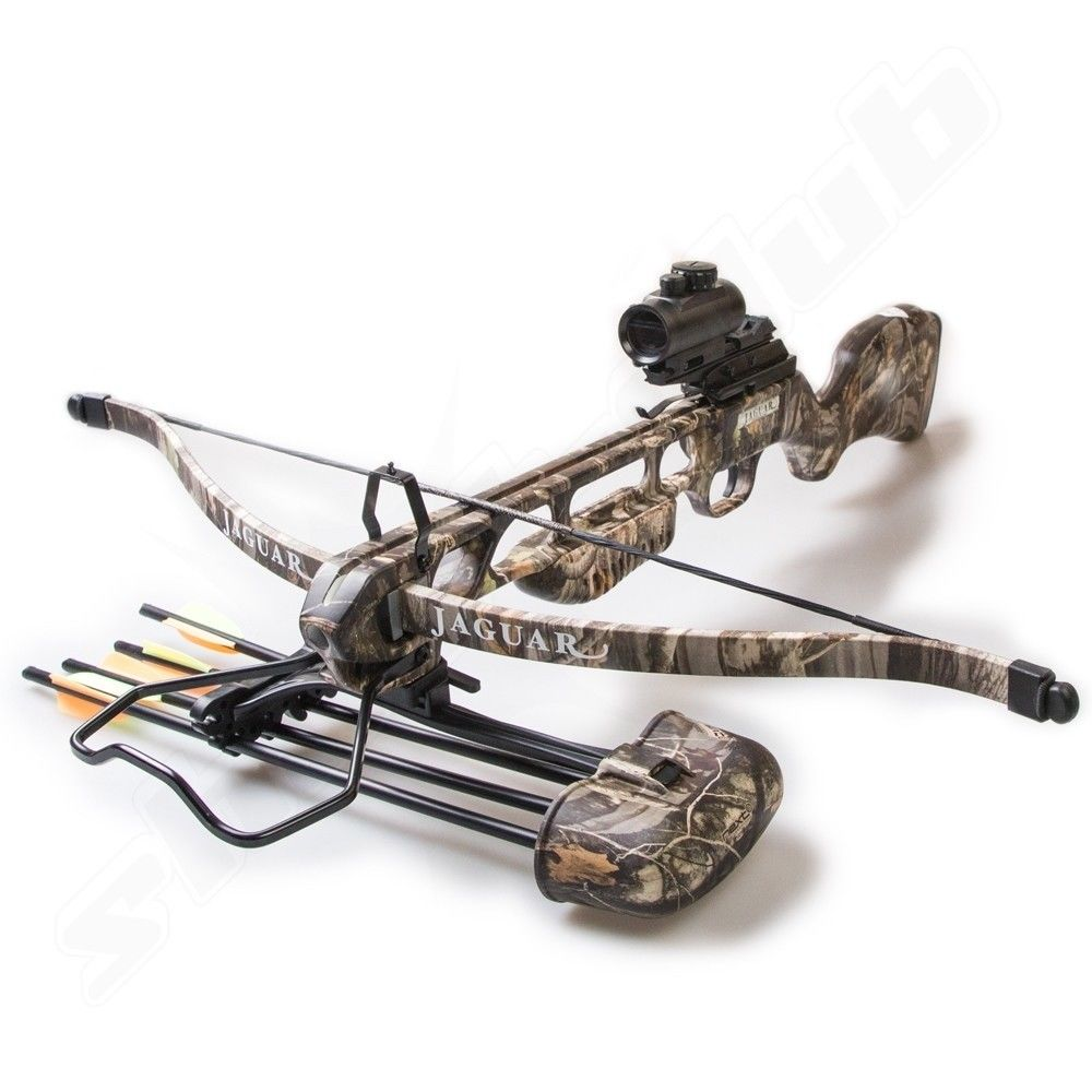 armex jaguar recurve armbrust 175 lbs camo inkl 4 bolzen. Black Bedroom Furniture Sets. Home Design Ideas