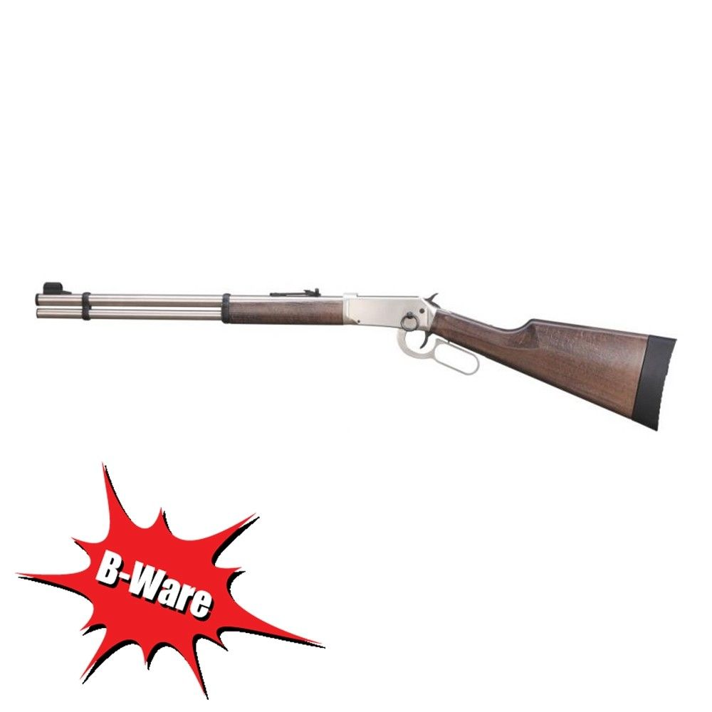B-Ware Walther CO2-Gewehr - Lever Action Steel Finish Kal. 4,5