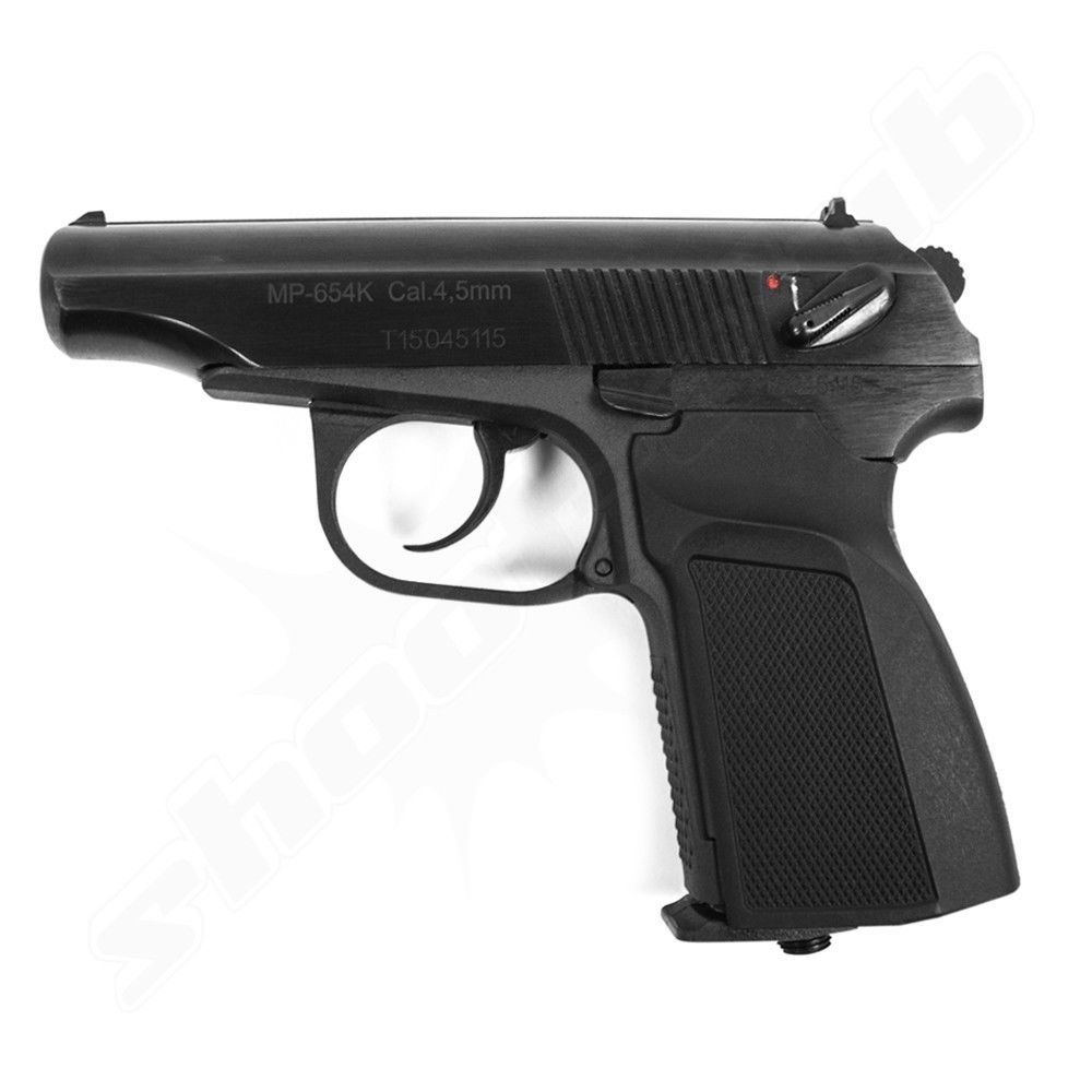 Baikal Makarov MP 654K CO2 Pistole - 4,5mm Stahlkugeln
