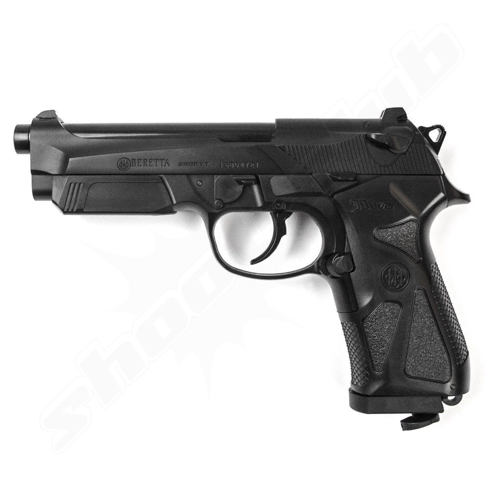 Beretta 90 TWO Softair Pistole CO2 NBB Metall Schlitten 6 mm 2 Joule