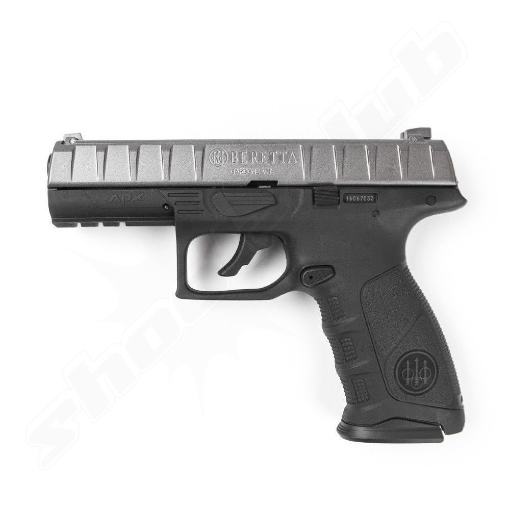 Beretta APX BlowBack CO2 Pistole metal gray - 4,5mm BB