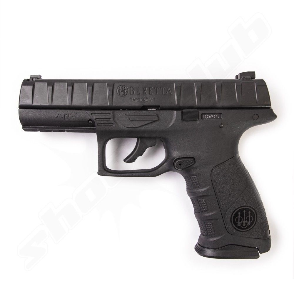 Beretta APX BlowBack CO2 Pistole schwarz - 4,5mm BBs
