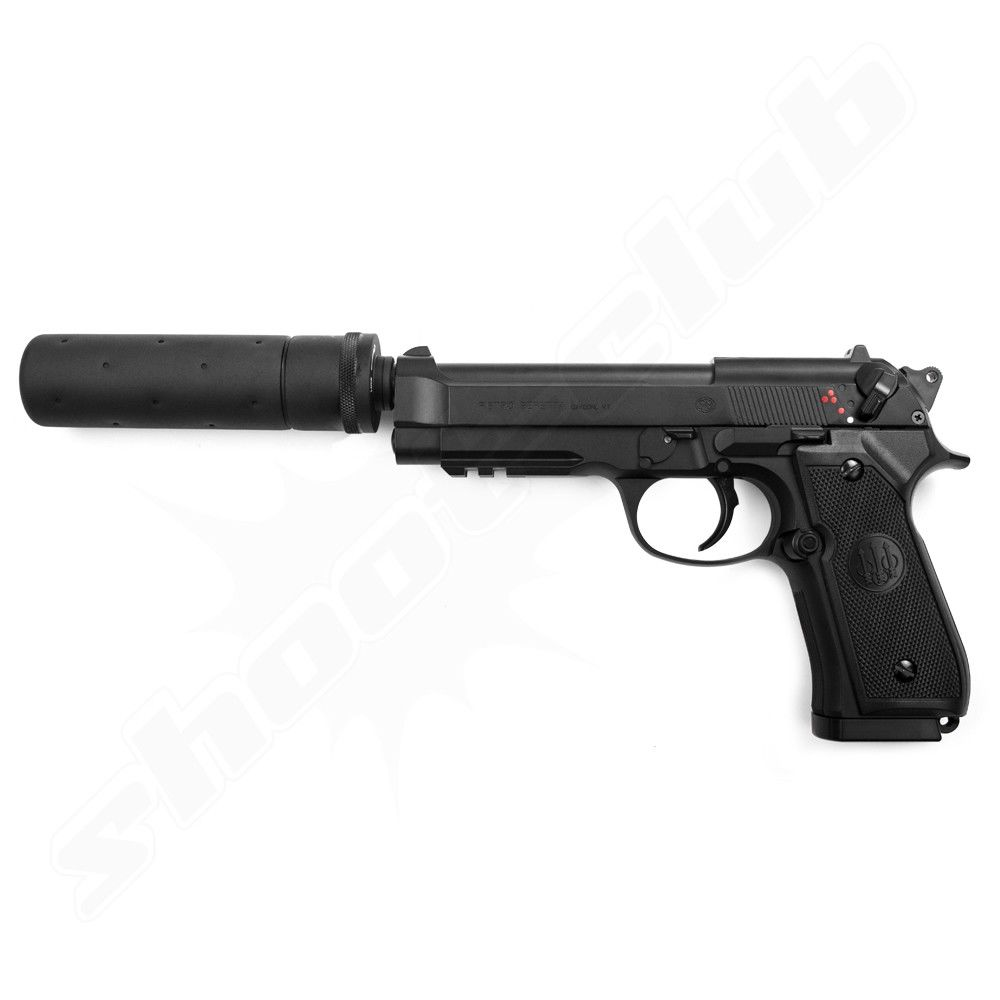 Beretta M92 A1 Tactical Softair Pistole AEP - 6mm