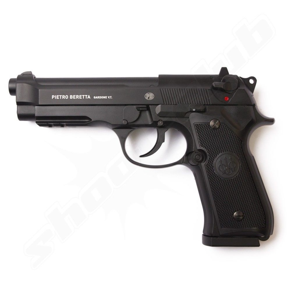 Beretta M92A1 CO2 Pistole Blowback - 4,5mm Stahlkugeln