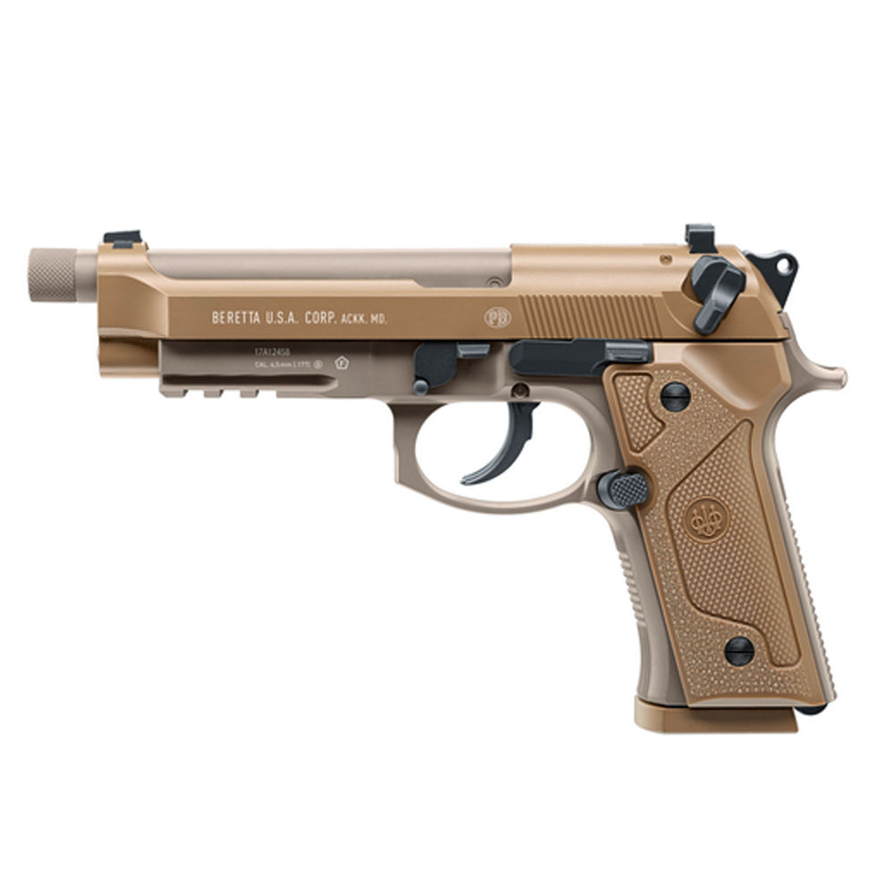 Beretta M9A3 CO2 Pistole Blowback - 4,5mm Stahlkugeln