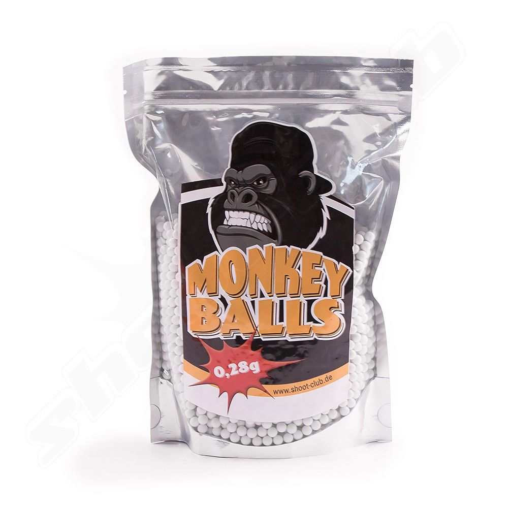 Softair Bio BBs - shoot-club Monkey Balls 0,23g - 1kg