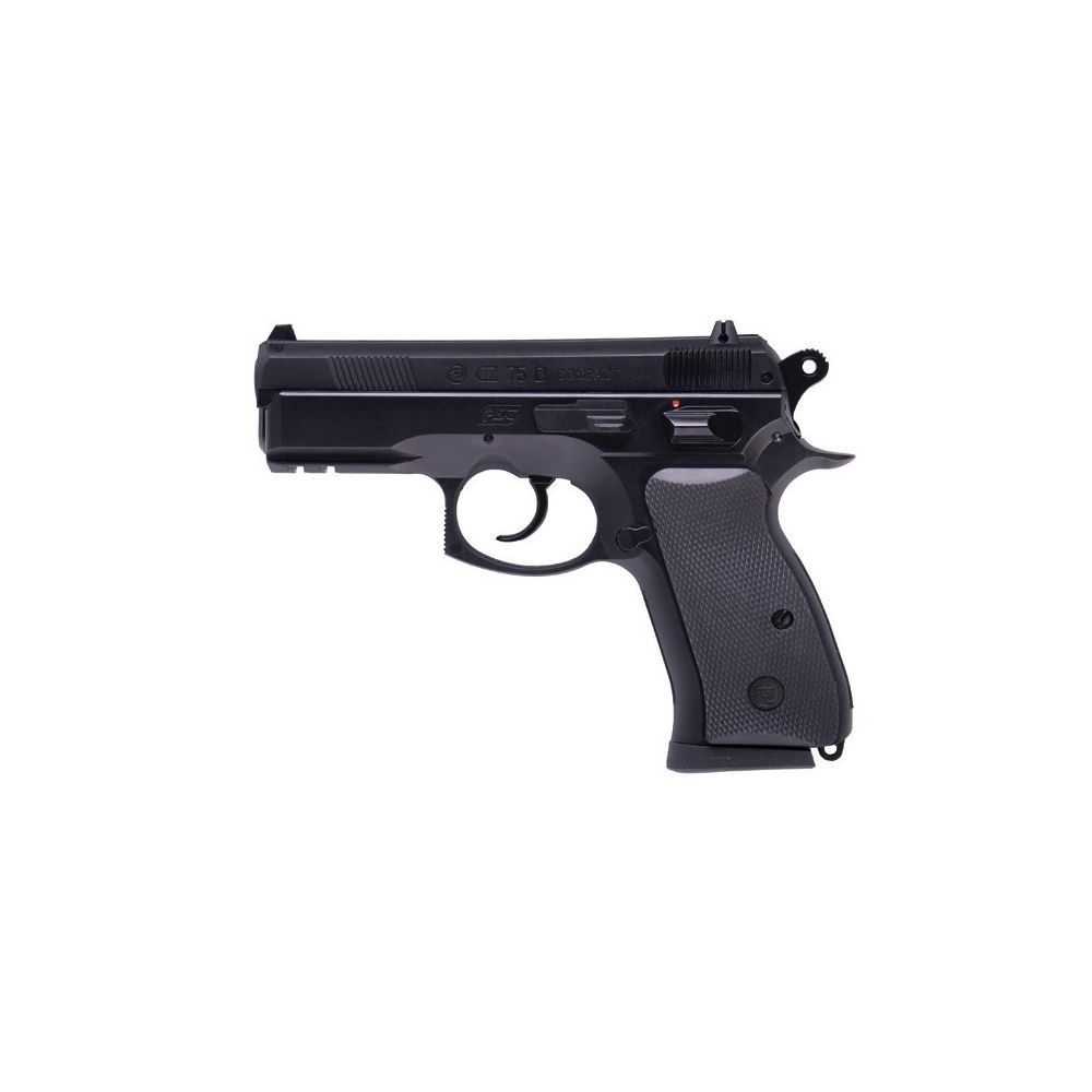 CZ 75 D Compact Gas Non Blow Back Pistole, Kaliber 6 mm