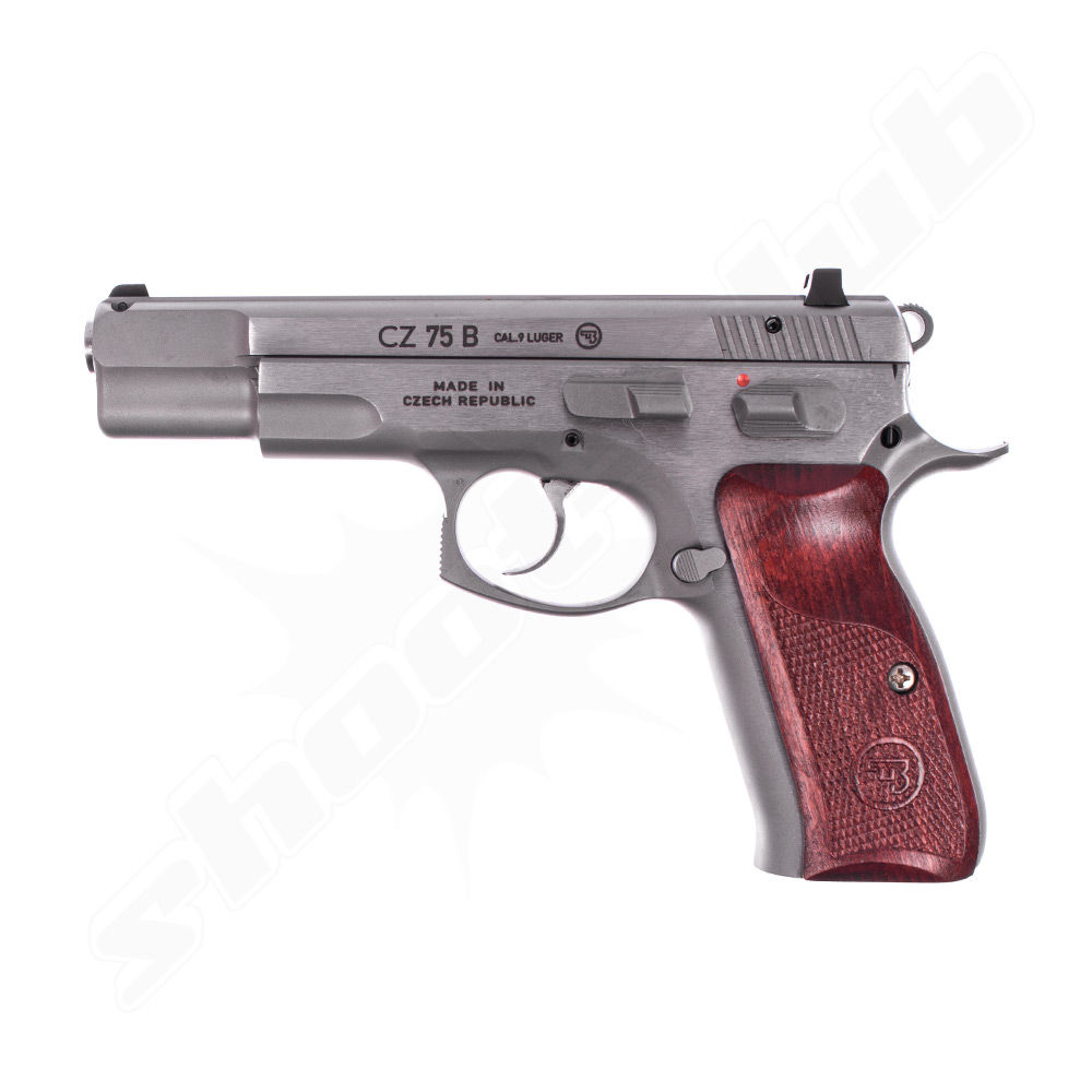 CZ 75B New Edition - Stainless Pistole - Kal. 9mm Luger