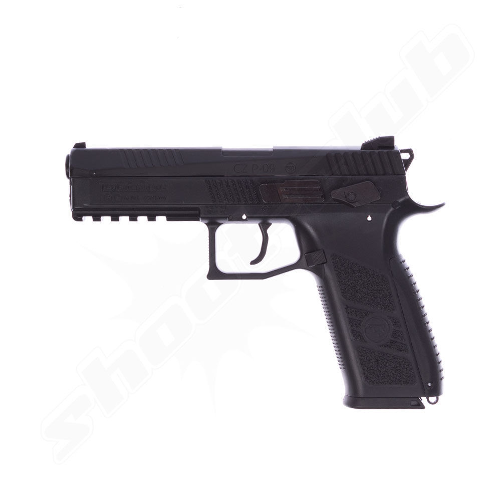 CZ P-09 Duty CO2 Pistole 4,5 mm Stahl BB & Diabolo