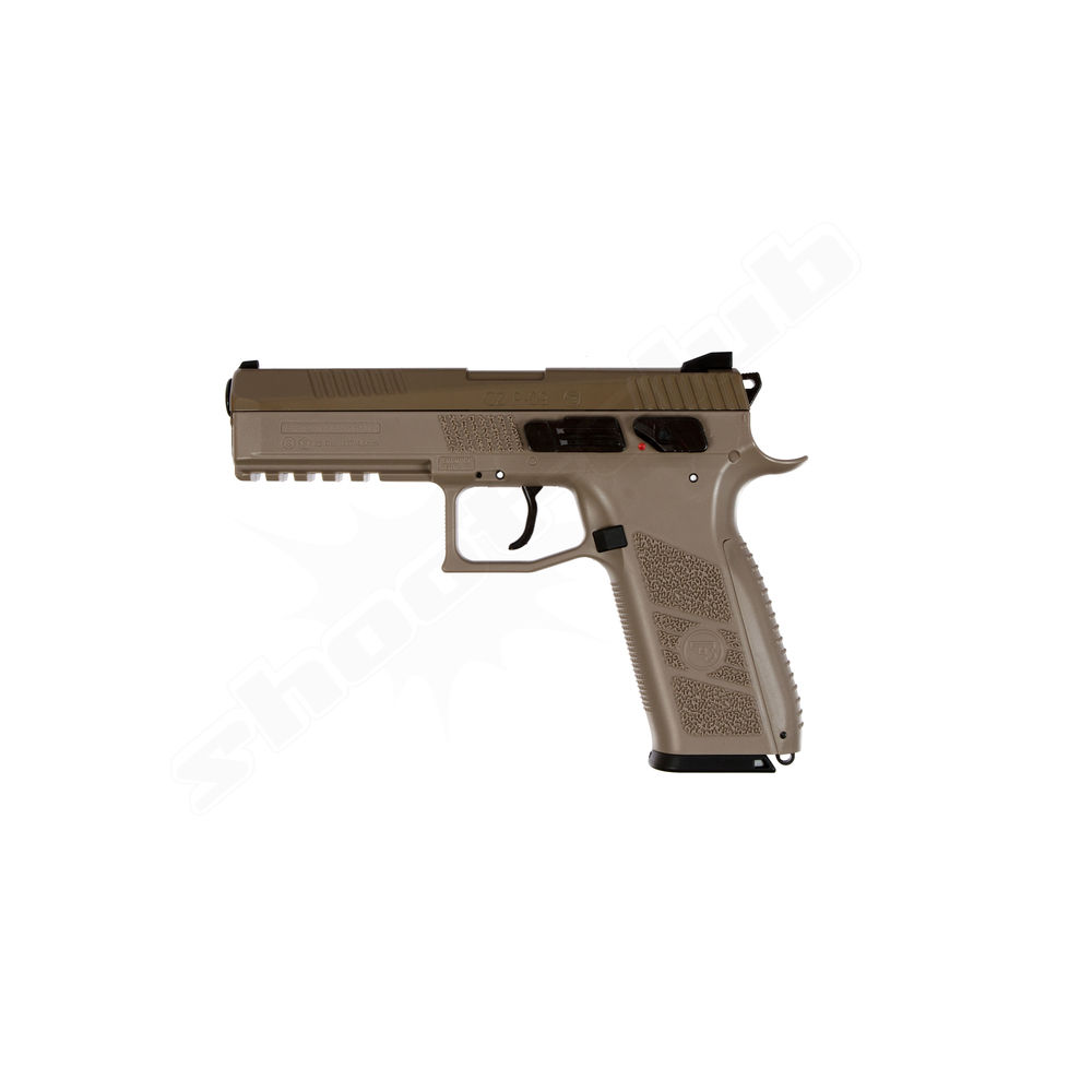 CZ P-09 Full FDE CO2 Pistole Kaliber 4,5 mm Diabolos