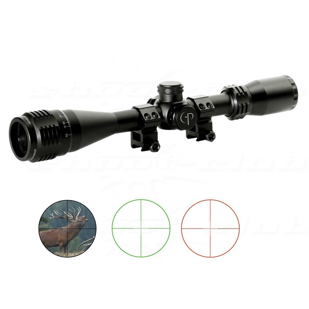 Center Point Zielfernrohr 4-16x40mm Adventure Class - für 22mm