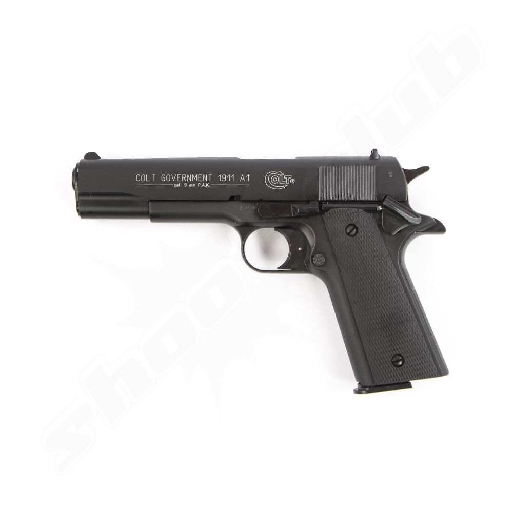 Colt Government 1911 A1, br�niert Kaliber 9 mm P.A.K.