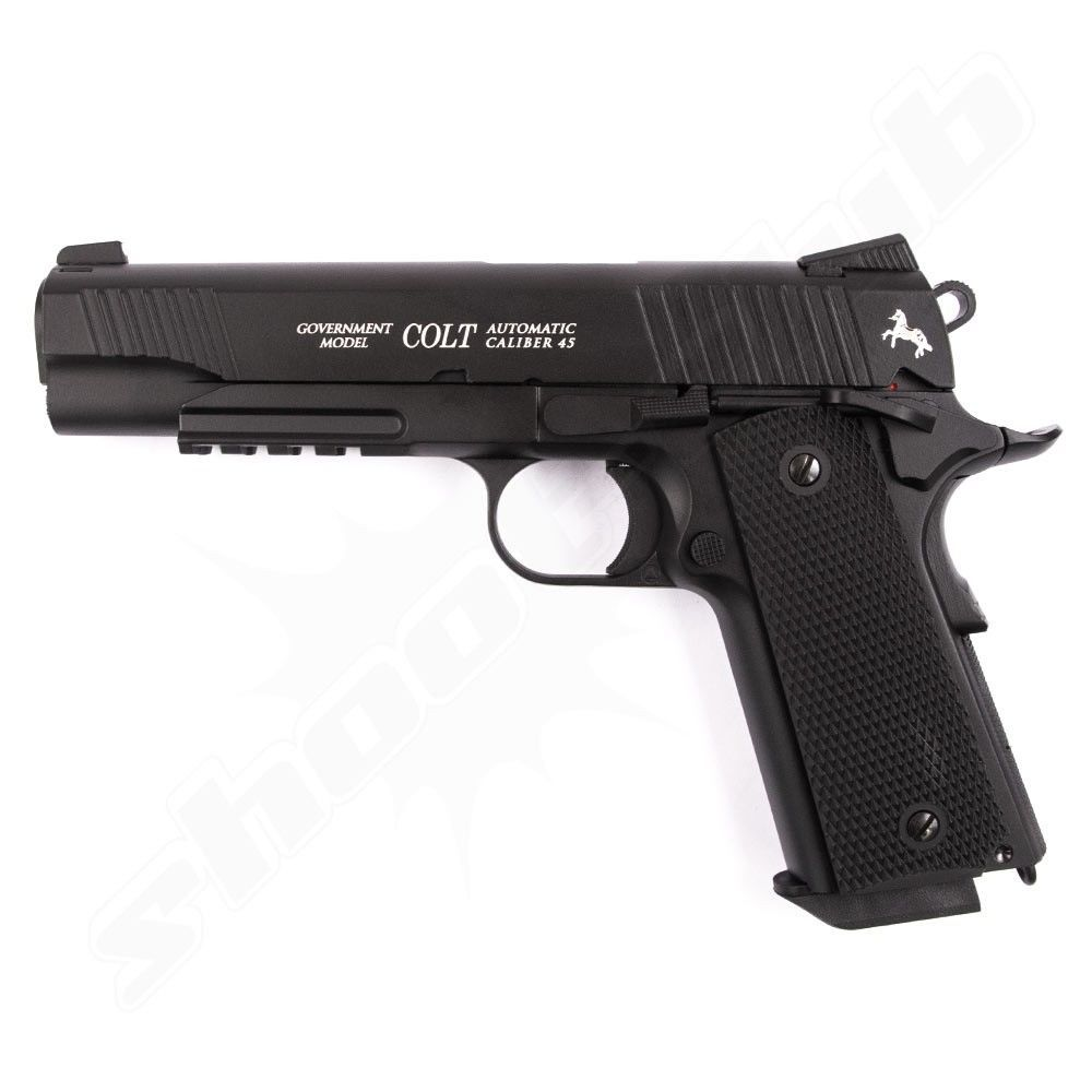 Colt Government M45 CQBP CO2 Pistole - 4,5 mm Stahlkugeln