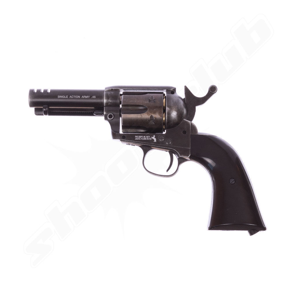 Colt SAA .45 CO2 Revolver 3,5 4,5mm Stahl BB - Custom Shop Edition