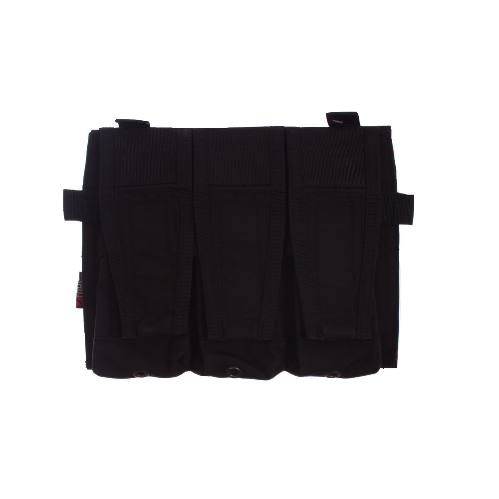 Crye Licensed AVS/JPC Front Panel 3-fach 5.56 Pouch - Black