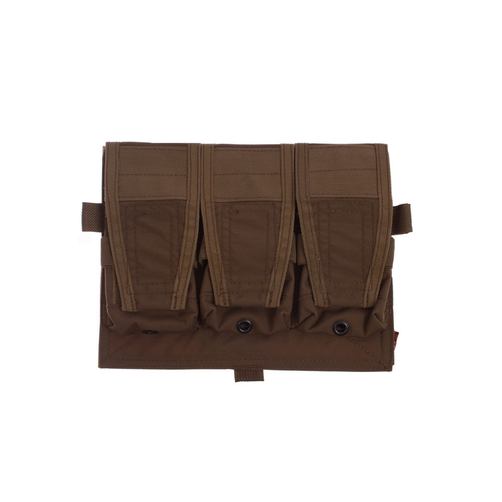 Crye Licensed AVS/JPC Front Panel 3-fach 7.62 Pouch - Coyote